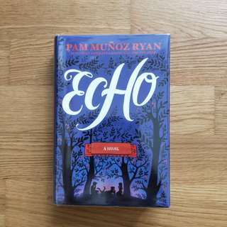 $7.90 echo pam munoz ryan author of the award-winning esperanza rising & the dreamers. hard cover excellent condition with plastic wrapper good as new