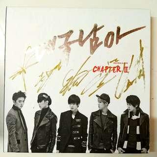 DGNA album ( the boss) with autograph