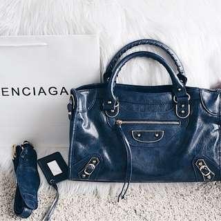 Balenciaga Metallic Edge Giant City Bag