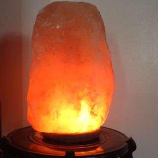 Himalayan salt lamp good for the health asthma ,allergy