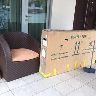 Bicycle shipping carton Large