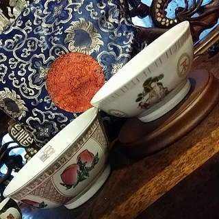 Chinese Vintage Bowls 2pcs For Only Rm30
