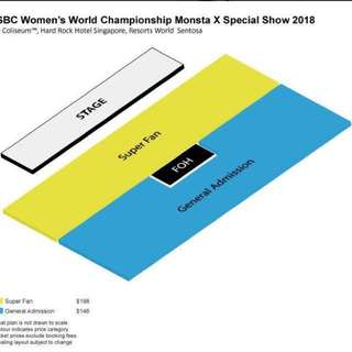 🍃 [wts] monsta x special show 2018