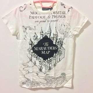 Harry Potter Official Marauder's Map T-Shirt