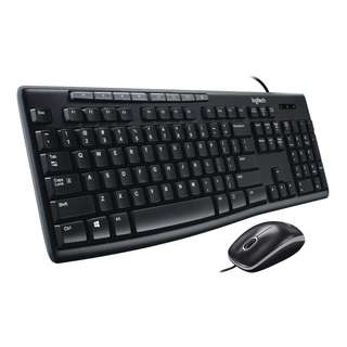 Logitech Keyboard Mouse Combo MK200