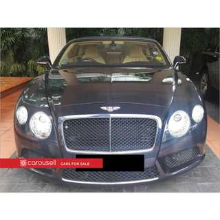 Bentley Continental GT Convertible 4.0A V8