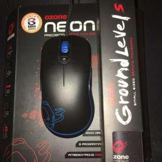 (香港行貨)Ozone Neon雙手通用 雷射滑鼠 送滑鼠墊