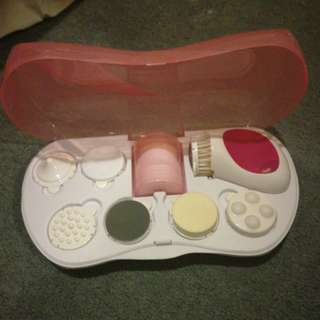 Facial Massager and Cleanser Kit