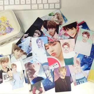 PREORDER Wanna One Fanmade Random 100 Photocards
