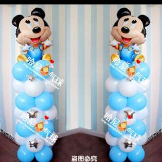 Mickey Mouse Theme Party Decorations *NEW INSTOCK*