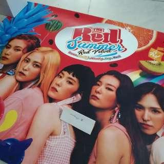 Red Velvet The Red Summer Poster