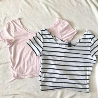 factorie crop top (2 colours)