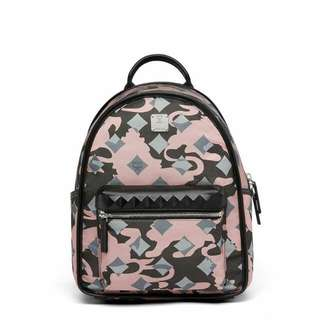 Authentic MCM dieter backpack in munich lion camo 🍀🌸🍀🌸