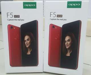 Oppo F5 Ram 6Gb dijual credit