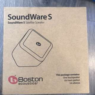 Boston soundware S satellite speaker