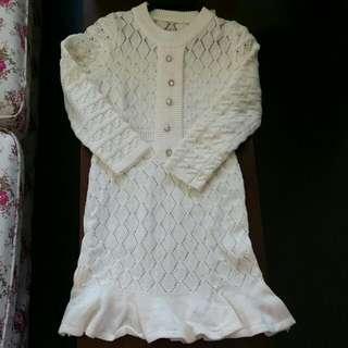 Knit dress 冷裙