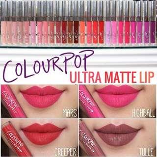 🆓📮Clearance!!!!! Colourpop
