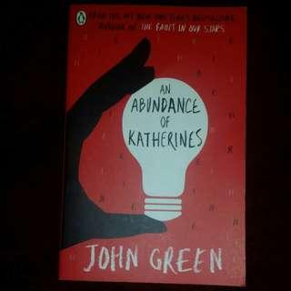 An Abundance of Katherine - John Gree