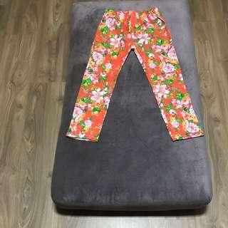Floral Pant Size 17