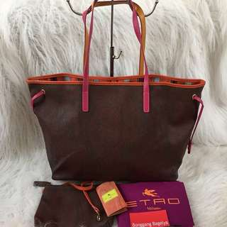 Etro Tote Bag with Flaw
