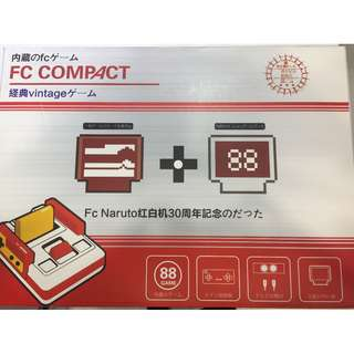 Vintage FC Compact game console
