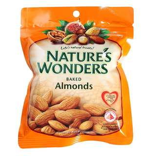 Nature's Wonders Baked Almond