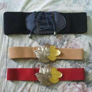 [INSTOCKS] Brand New Stretchable Belt