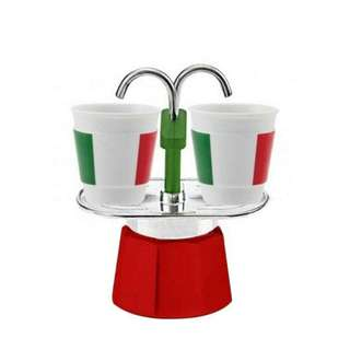 Bialetti Mini Express Espresso Maker Set - 2 Cups