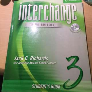 Cambridge Interchange third edition 3 student's book 英文教學含CD