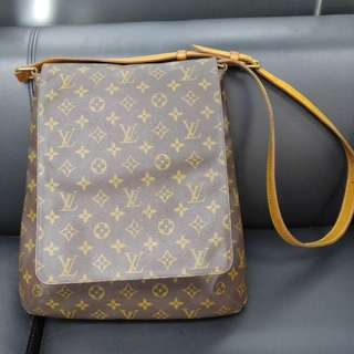 Louis Vuttion Musette Salsa GM Monogram Crossbody Shoulder Bag vintage
