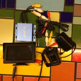 Veise D.S.P Color Video Camera 全套