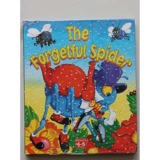 Children's Book (The Forgetful Spider & The Naughty Kitten