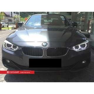BMW 4 Series 428i Convertible Luxury