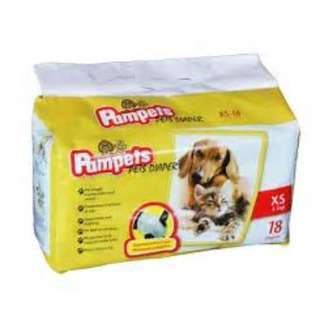 Pampets Diapers for Dogs and Cats XS (18 pcs)
