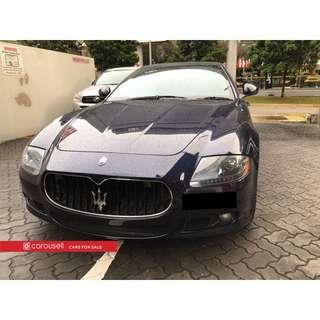 Maserati Quattroporte Sport GTS 4.7