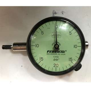 FEDERAL Indicator Dial Full Jeweled C6Q .001""