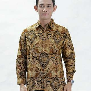 Hem cowok batik