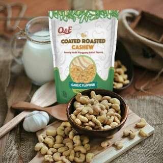 PROMO Q&E Roasted Cashew - Kacang Mede Panggang - Mente Murah
