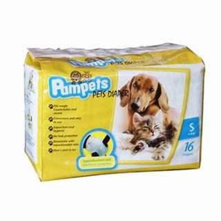 Pampets Diapers for Dogs and Cats Small (16 pcs)