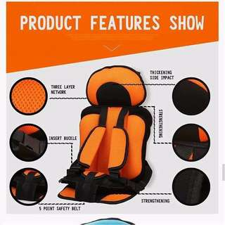 Child Car Safety Seat 0-6 Year Old Baby Portable Baby Safety Seat/0-6岁儿童汽车安全座椅