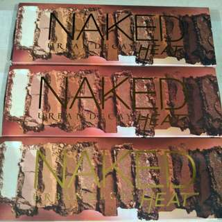 Naked Heat Eyeshadow - Instock For 3 Set