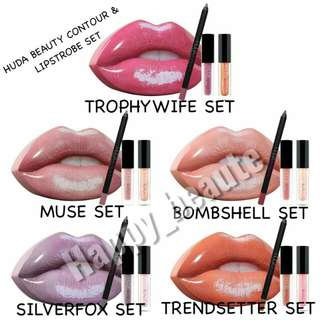 Huda Beauty Contour & Lipstrobe Set