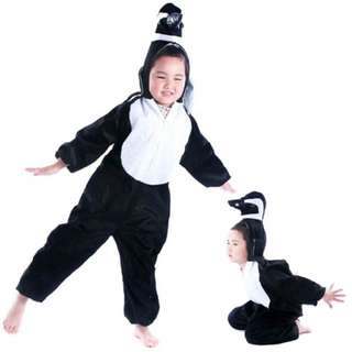 Deluxe Children Penguin Big Head Dress Costume Animal Fairytale Outfit
