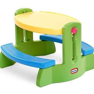 Little Tikes Adjust & Draw Bench Table