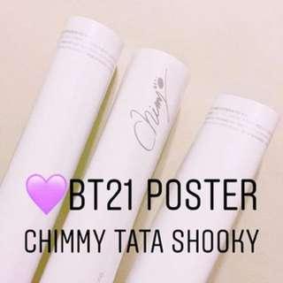 BT21週邊 Poster