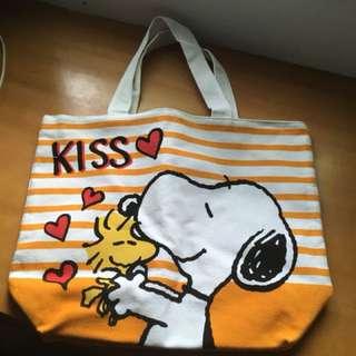 711 集點商品 Snoopy 史努比 肩背包