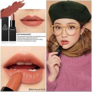 READY STOCKS   Stylenanda 3CE Original Matte Lip Color #908 Warm & Sweet