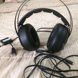 Steelseries siberia 650 gaming headset black
