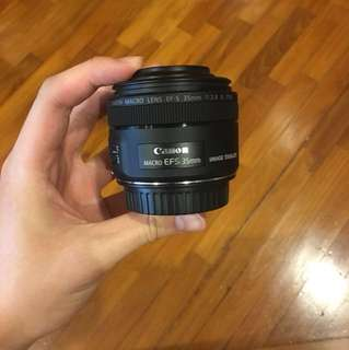 Canon EF-S 35mm f/2.8 IS STM 2017 Macro Lens