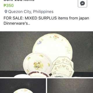 Mix Surplus Items
